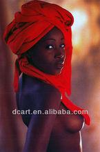 Handmade Sexy african women painting