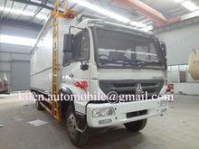 SINOTRUK Styre 4*2 animal transport truck / home refrigerator truck