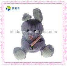Lovely purple soft bunny toy