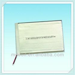 3.7v li-ion polymer battery 5000mah for tablet pc
