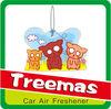 Paper car air freshener cheap wholesale perfumes Y135