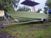 boat sport fishing 25ft