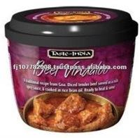 EXP472 Taste of India Beef Vindaloo Meat Snacks