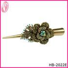 Antique Bronze Decorative Hair Pins Hair Barrette For Lady