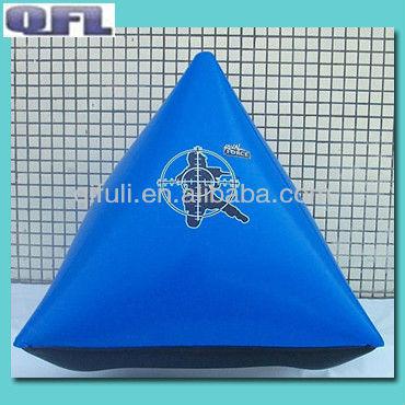 PVC Paintball Air Bunker/ Small Dorito
