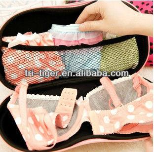Light weight EVA Travel bra bag,bra storage box