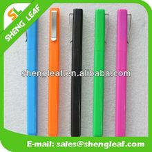 Rectangular with clip pen