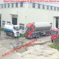 El aceite combustible y el transporte de combustible de aluminio tanque furl p transporte de aceite, super diesel, chorro de al, el queroseno, de aluminio fabricante del remolque