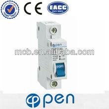 DZ47 C45 mcb ,circuit breaker mcb switch