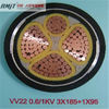 6-35 KV XLPE Insulated PVC Sheathed 95mm pvc Power Cable