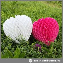 2014 new Tissue Honeycomb Paper Wedding Favor
