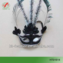 simple design elegant feather masks for all kind of party