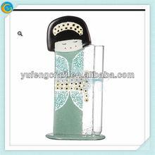 bubble glass winter and summer gaisha image bud vase