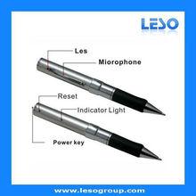 Audio and video record hidden camera pen muti function pens