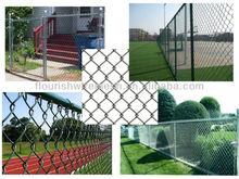 diamond type chain link fence