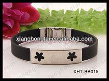 Blank Bezel Setting Bracelet With Germanium Energy