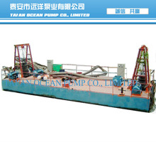 Submersible mini sand water barge for sale