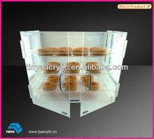 Eco-friendly Bakery Acrylic Cake Pops Display Stand