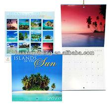 desktop calendar with print