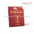 Kongyuen buena calidad cuerdas de la guitarra/los nombres de los instrumentos de cuerda