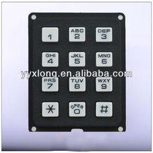 metal 3x4 numeric numeric keypad function keys