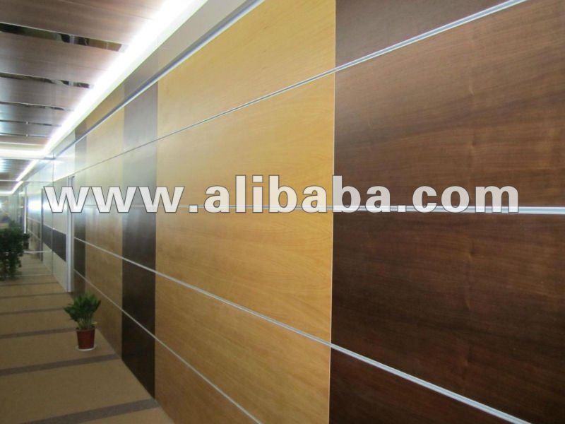 Panneaux de fibers de ciment cfc bois plaqu panneaux for Panneau habillage mural
