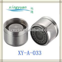 "faucet aerator 15/16"" - 27 Male thread x 55/64"" - 27 female thread 0.5GPM 1.0GPM 1.5GPM 2.2GPM"