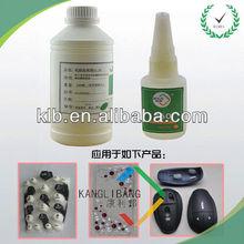 RTV Silicone adhesive bond plastic to metal
