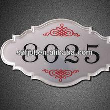 Imported acrylic/plexiglass white plate