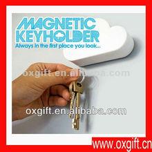 OXGIFT Cool Cloud-Shaped Magnetic Key Holder / Cloud Key Holder Creative keyholder