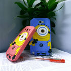 Free sample despicable me silicone case for galaxy note 2