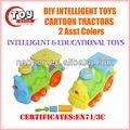 Intelligente diy cartoon trattore( 2 asst)