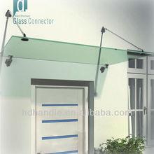 Modern Glass Porch Door Canopy/ Balcony shelter