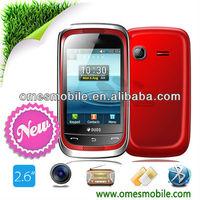 M3262 Bluetooth FM 2.6inch Java free games Dual sim low price mobile phone