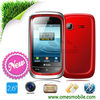 M3262 Bluetooth FM 2.6inch Java free games Dual sim low range mobile phone