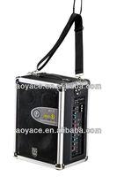 sound box with usb/sd/wireless head mircophone