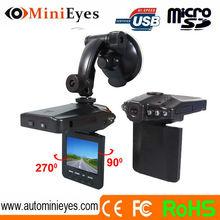 2.5 inch H198 car recorder night vision cam loop recording portable car cam recorder