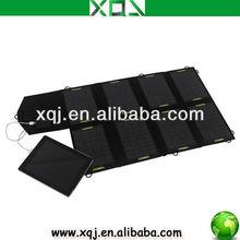 28W 18V Portable Solar Laptop Charger Case/Panel
