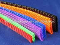 Nylon / PET Expandable /Flexible Cable Mesh Sleeve Tube