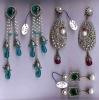 Bollywood victorian earrings