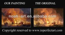 Popular sea view oil painting from Xiamen Noah Art