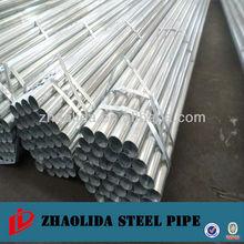 diameter 32 mm zinc coated pipes /GTC