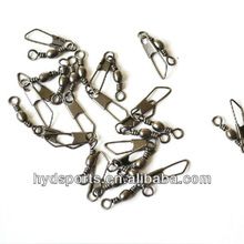 Copper Fishing Rolling Swivel with Safety Snap