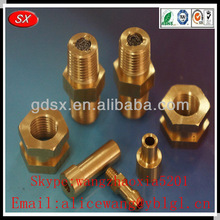 OEM brass precision machined part,brass electronic parts,cnc machining brass parts in dongguan,ISO9001:2008 passed