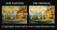 Popular sailboat oil painting from Xiamen Noah Art
