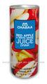 rojo jugo de manzana