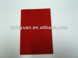 Rid red polyester booth exhibition carpet