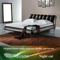 high quality elegant wood single cot bed AY183D