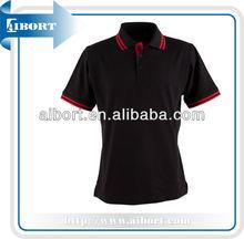 Mens Polo Size S M L XL 2XL 3XL 4XL 5XL Contrast Work Golf Shirt Top! cotton plain black v-neck polo shirts