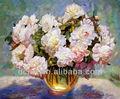 pintura a óleo moderna fotos de lindas flores para casa decro